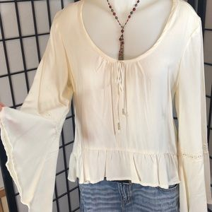 Mudd Bell Sleeved Top